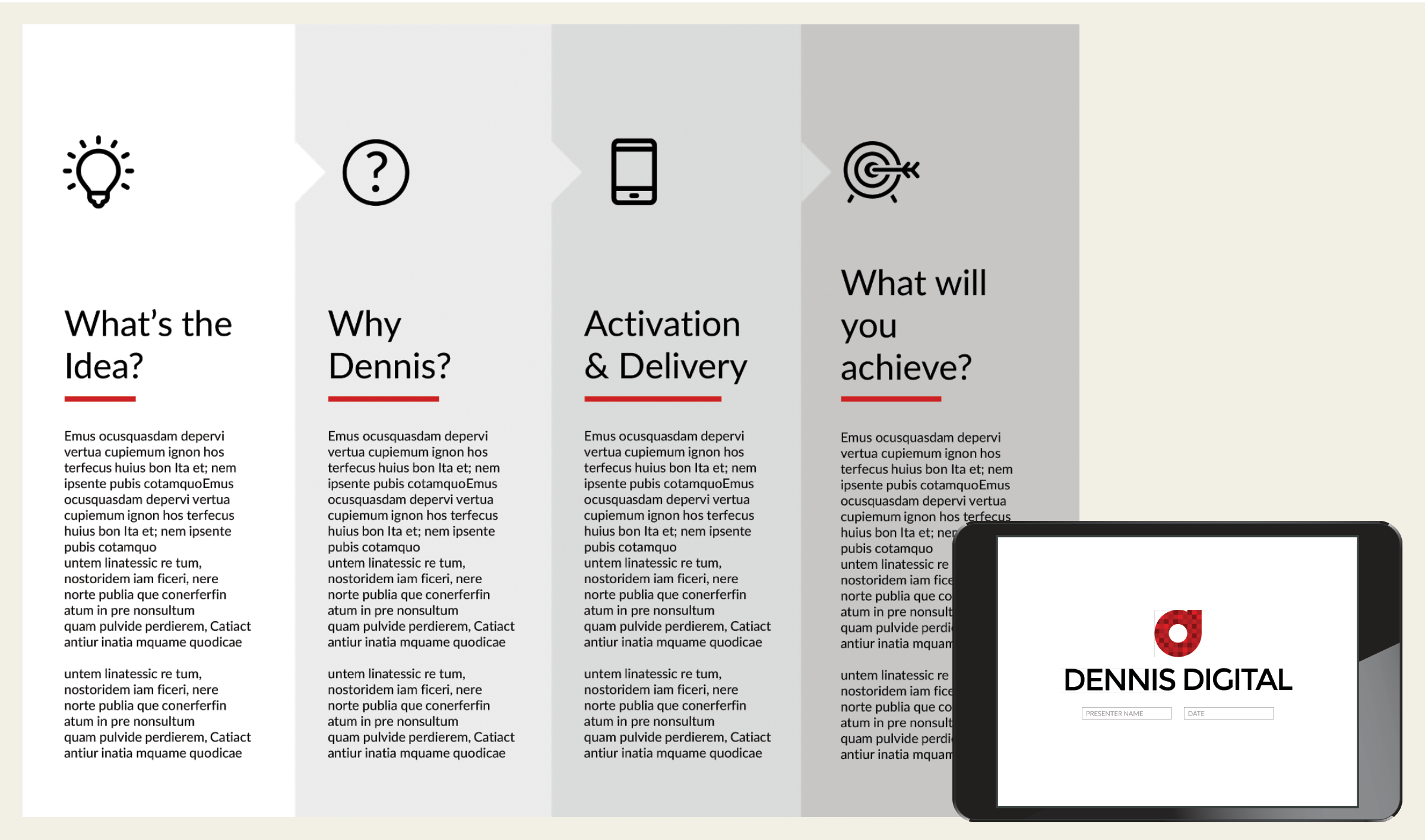 Dennis digital deck