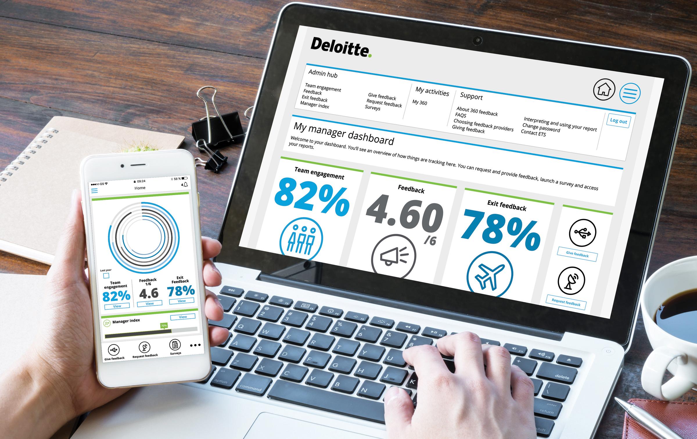 Deloitte products UI