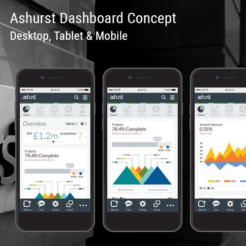 Ashurst Dashboard Concept